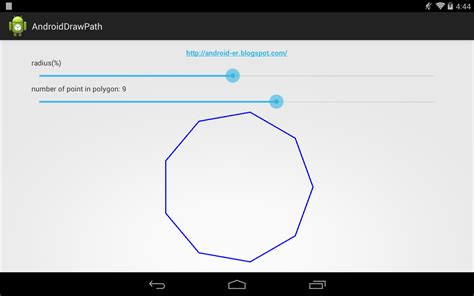 layout canvas android android er draw path of polygon on canvas of custom view