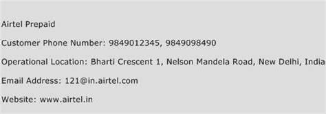 Airtel Mobile Number Address Search Airtel Prepaid Customer Care Number Toll Free Phone Number Of Airtel Prepaid