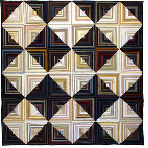 Log Cabin Patchwork Quilt - part 2 tara faughnan shares quilts see how we sew