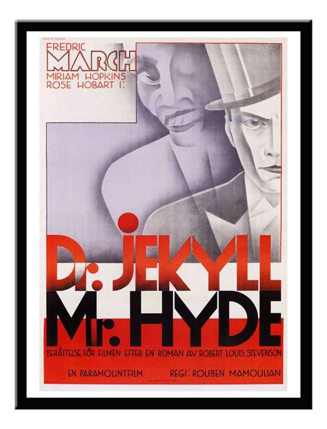 printable version of dr jekyll and mr hyde dr jekyll and mr hyde vintage movie print framed available