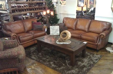 rustic leather sofa and loveseat rustic sofa and loveseat western leather furniture rustic
