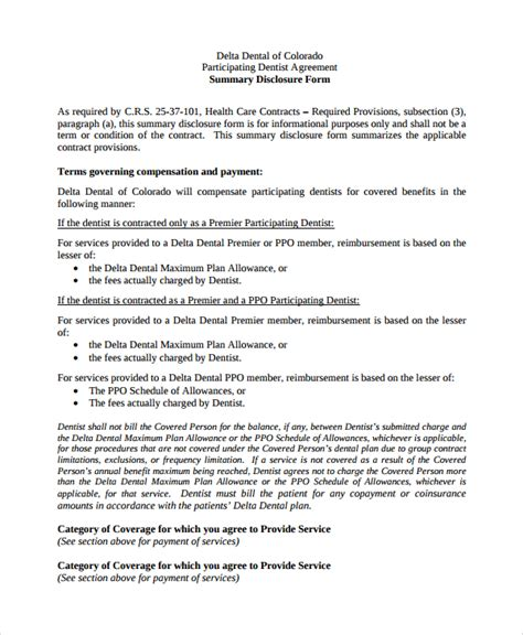 Free Employment Agreement Template by 8 Sle Dentist Employment Agreements Sle Templates
