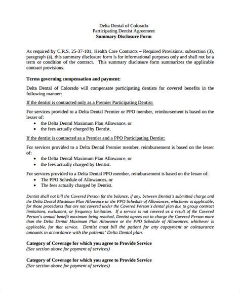 8 Sle Dentist Employment Agreements Sle Templates Dental Partnership Agreement Template