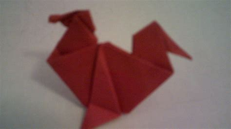 origami rooster tutorial origami rooster by spark star on deviantart