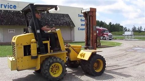 swing modelle 5000 fork lift