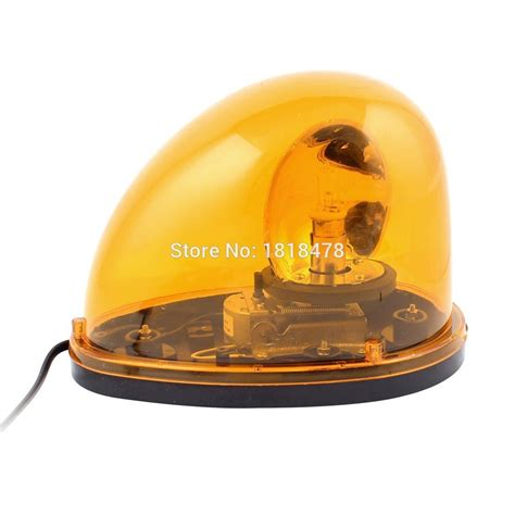 Rotary Warning Light 6 ltd 1201 dc12v dc24v vehicle car yellow emergency beacon rotary warning light