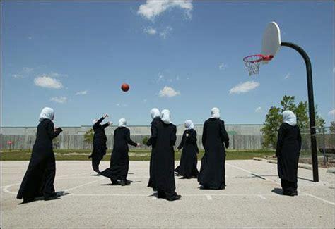 Believe Muslim Sport 3 st joseph s catholic school trades blazers for burqas