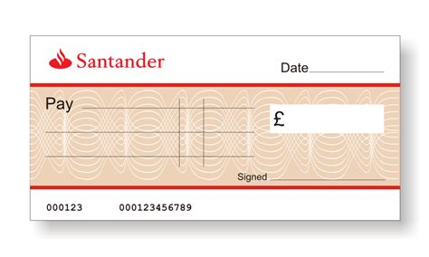 santander bank de banking big branded cheques the home of big presentation cheques
