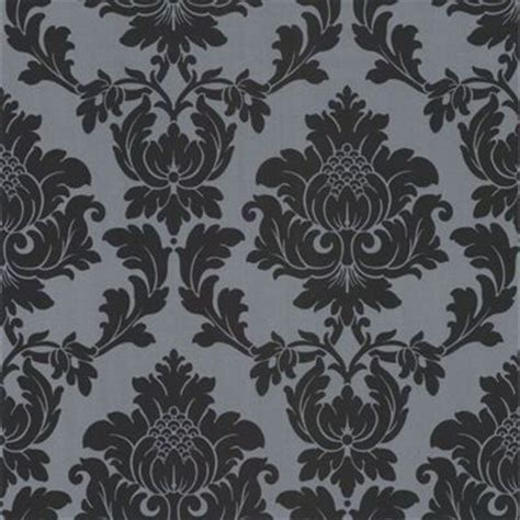 Black And White Wallpaper Homebase | wallpaper at homebase damask floral textured and plain