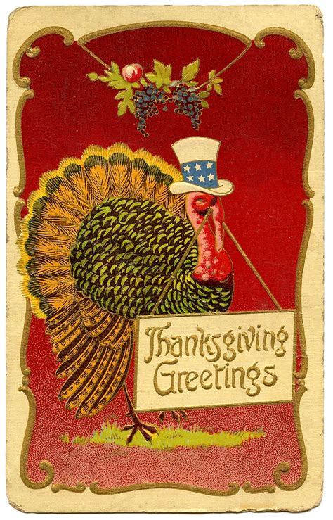 Thanksgiving Free Clip Vintage by Happy Thanksgiving Clipart