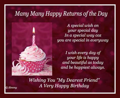 special wish for a special friend free for best friends