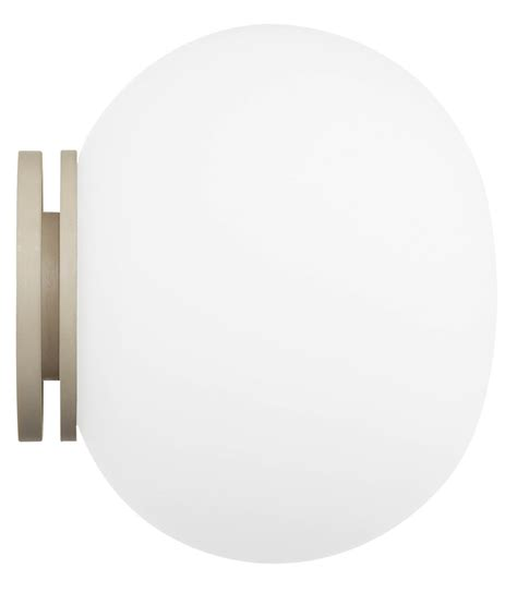 ceiling mounted mirror flos glo mini ceiling wall or mirror mounted light white