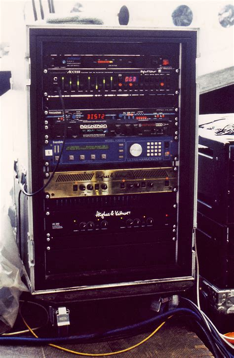 why a guitar rack system with a built in and
