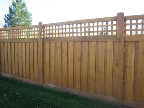 Wood And Style by Wood Fence Designs For House Traba Homes