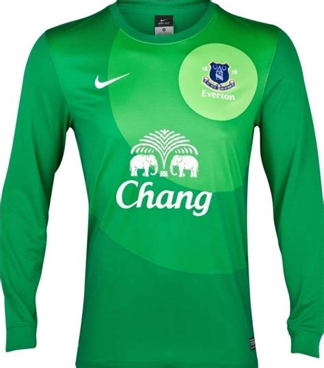 Kaos Umbro Grey new everton home goalkeeper shirt 2012 13 everton fc gk