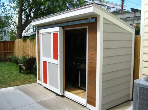 modern garden shed paint  colours   house