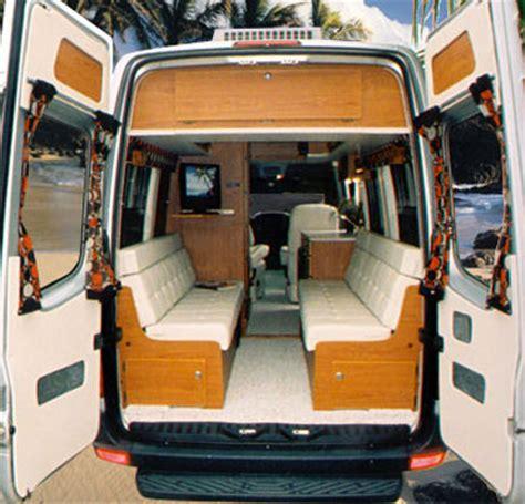 Vw Camper Upholstery Sprinter Dyo 3 Eb Rear Dinettes Sportsmobile Custom