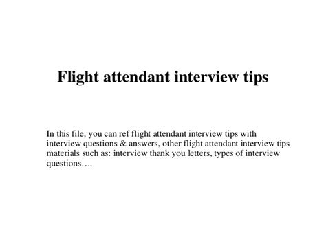 help i have a flight attendant interview work book for your