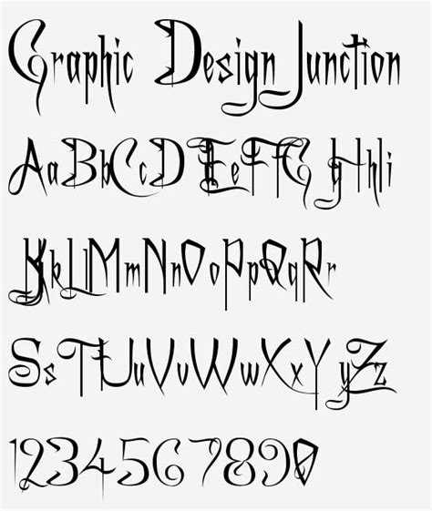 tattoo lettering designs free download 10 cool scary fonts images scary writing fonts scary