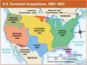 us territorial expansion map blank westward expansion and sectionalism