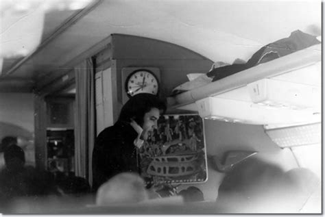 elvis plane elvis presley on a plane to denver to collect a police badge november 1970