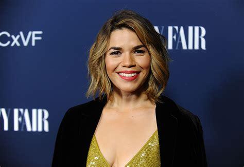 actress america ferrera america ferrera did triathlon to overcome her insecurities
