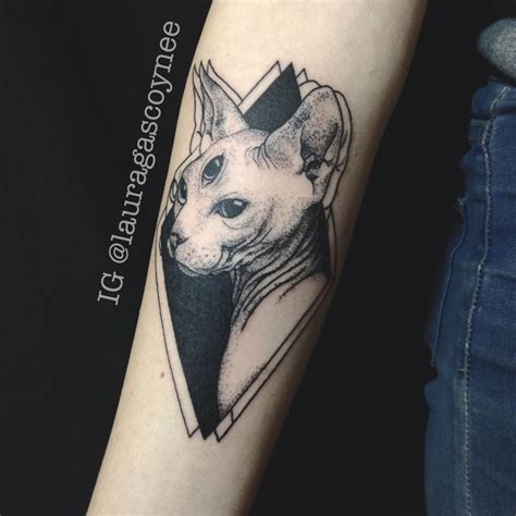 sphinx tattoo designs best 25 sphynx cat ideas only on