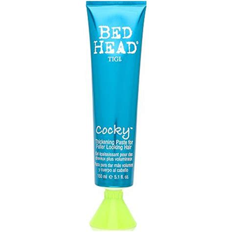 bed head cocky bed head cocky thickening paste for fuller looking hair