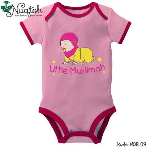 Baju Anak Branded Basic Sleeve nuqtoh perlengkapan bayi perempuan baju anak laki laki branded