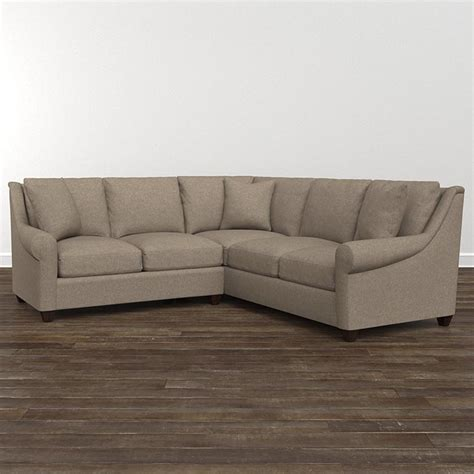 small l shaped sectional american casual ellery small l shaped sectional