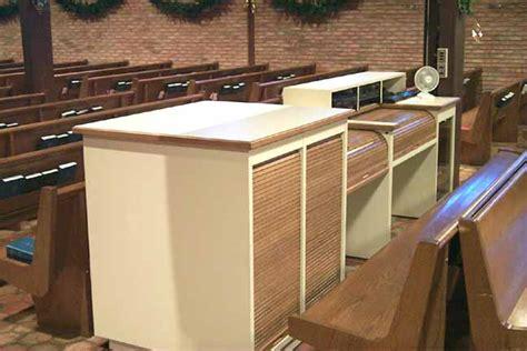 auditorium acoustics furniture church furniture console