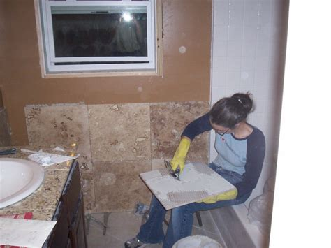 Building A Tile Countertop by How To Build Tile Countertop Backbutter All Tiles Just