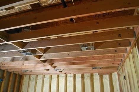 how to frame in drop ceiling projects