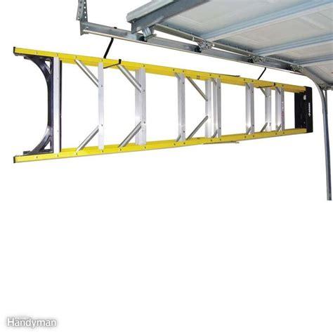 Ladder Storage Ideas In Garage Best 25 Ladder Storage Ideas On Garage