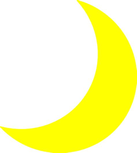 Moon Clipart by Yellow Moon Clip At Clker Vector Clip