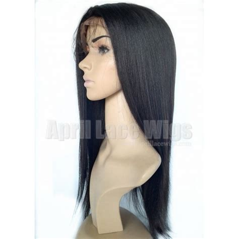 indian remy light yaki full indian remy human hair light yaki full lace wigs for black