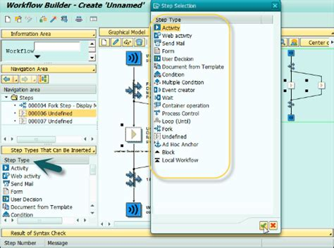 sap workflow task sap business workflow creating steps