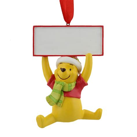 winnie the pooh christmas tree decoration hanging ornament