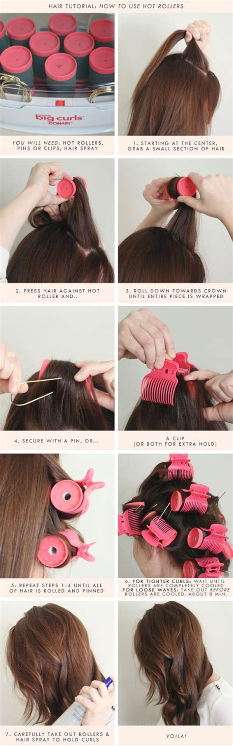 how to section hair for hot rollers designer ideas feature creative sassy fashion looks for