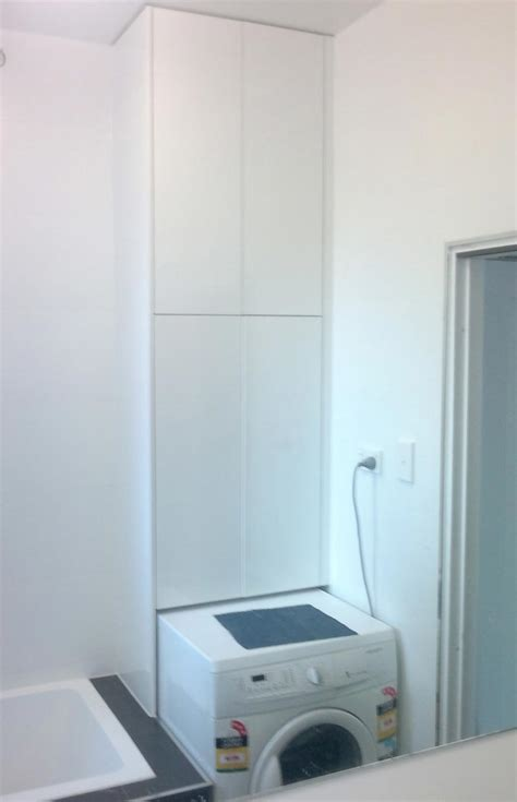 laundry design with toilet 9