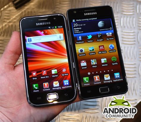 Samsung Galaxy Ac Plus samsung galaxy s plus on and benchmarks android