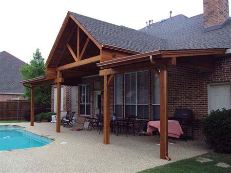 large shingled poolside cover  gable  sloped