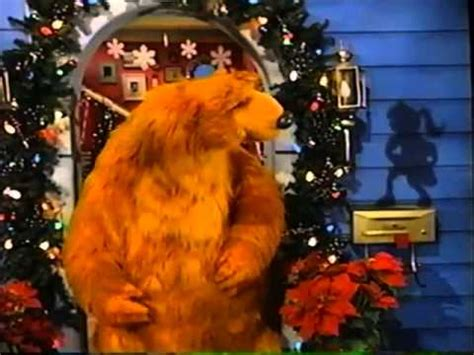 bear inthe big blue house a berry bear christmas bear in the big blue house a berry bear christmas part 1 youtube