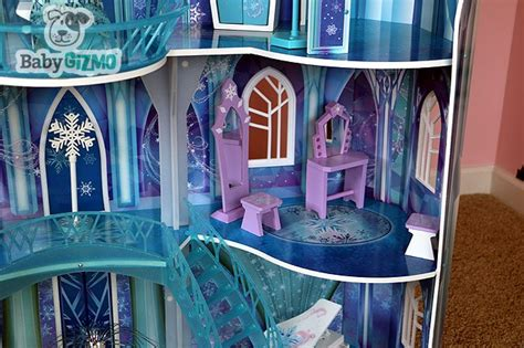 frozen doll house disney frozen snowflake mansion ice castle doll house
