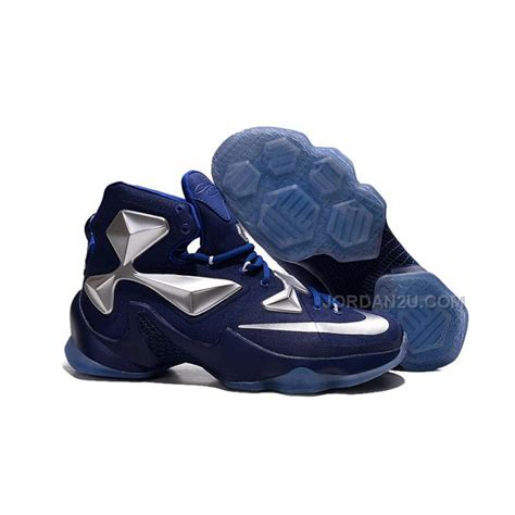 nike basketball shoes cheap cheap nike lebron 13 blue metallic silver basketball