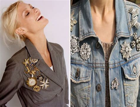 Ways To Wear A Brooch by How To Wear A Brooch With Different Types Of Clothing