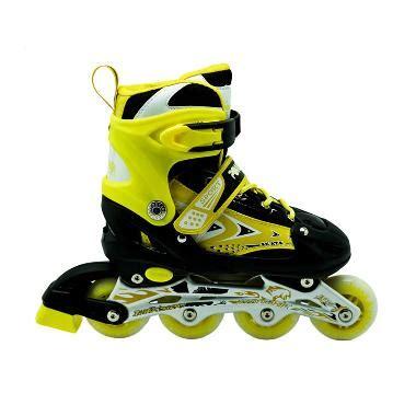 Sepatu Roda Merk Power jual power line sepatu roda inline skate kuning