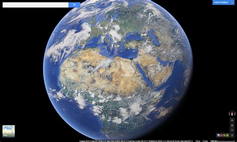 Populate Earth by Dive With The New Maps For Desktop With