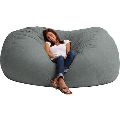 comfortable bean bag chairs xxl 7 fuf comfort suede bean bag multiple colors bags