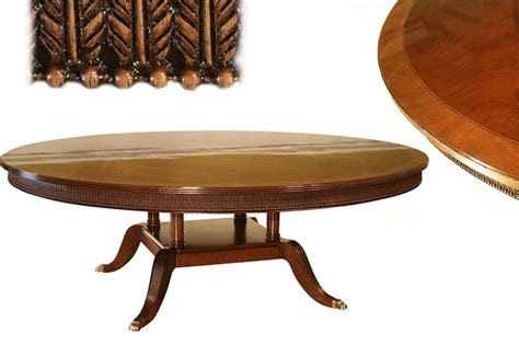 mahogany dining room table large 84 inch round mahogany dining room table seats 10